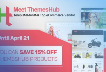 Meet ThemesHub, TemplateMonster Top eCommerce Author!