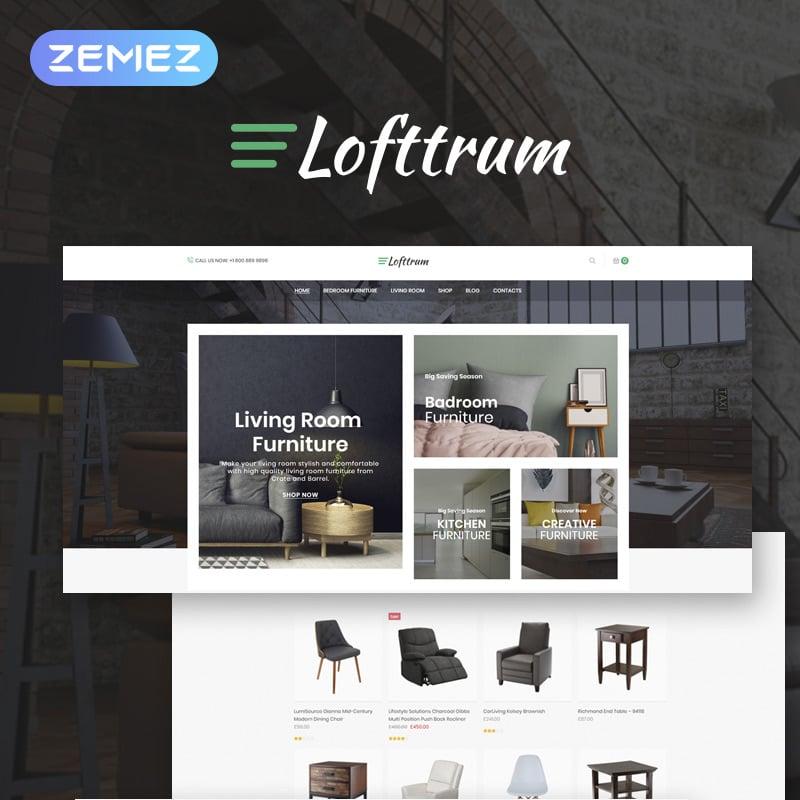 Furniture Online Shop Elementor WooCommerce Theme