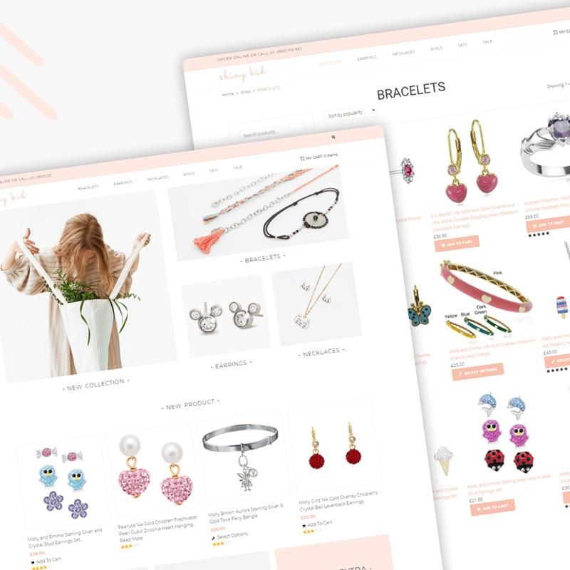 Children Jewelry Elementor WooCommerce Theme