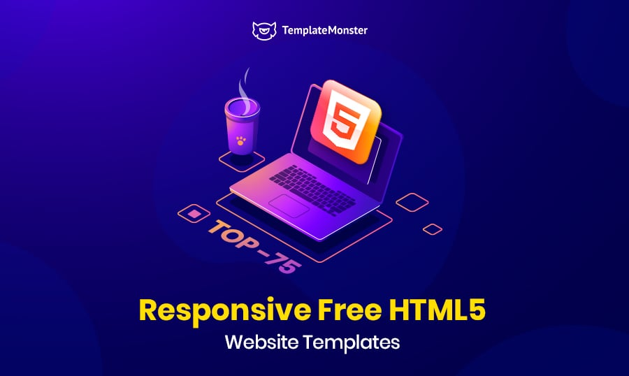 Top 75 Responsive Free Website Templates Html5 2020