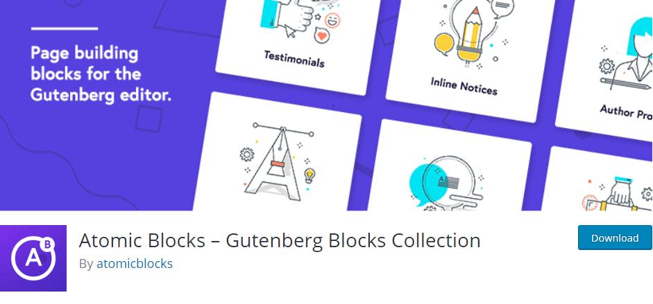 Atomic Blocks - Gutenberg Blocks Collection