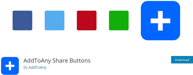 AddToAny Share Buttons.
