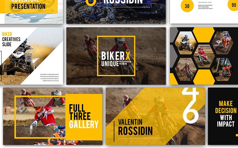Biker X Google Slides