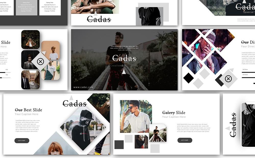 Cadas Creative Google Slides