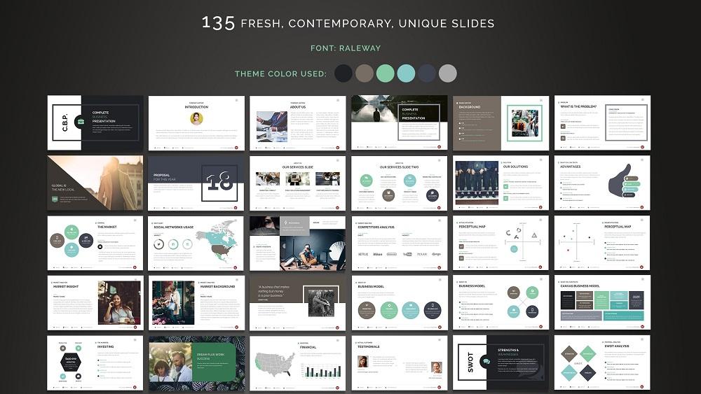 Complete Business Google Slides