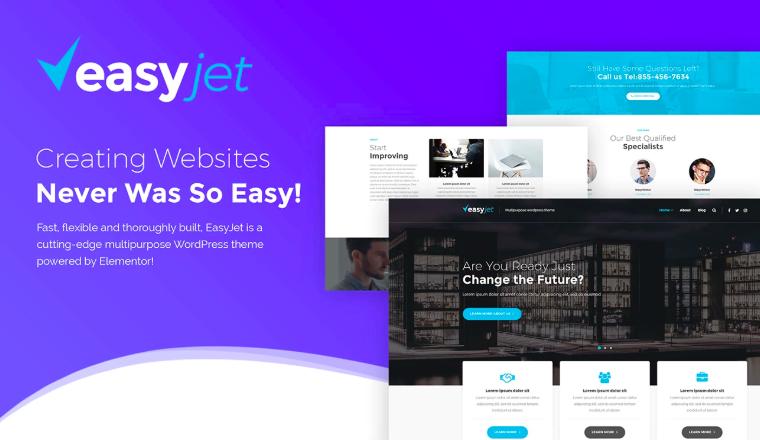 EasyJet - Multi Homepage WordPress Theme