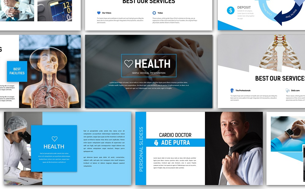 Health Medical Google Slides