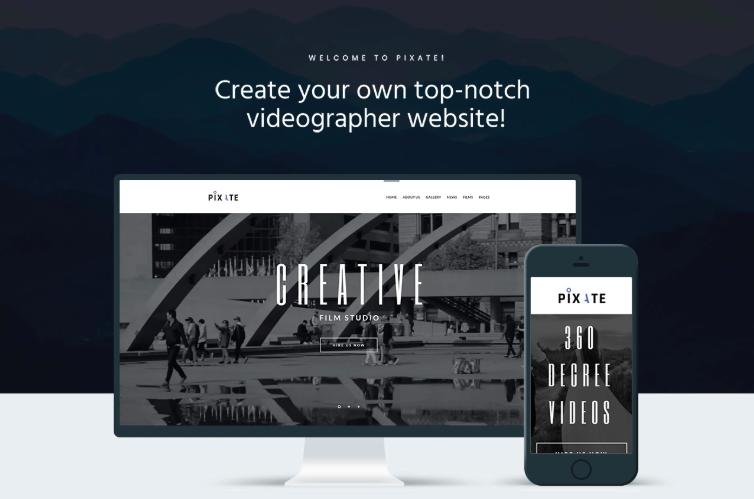 Pixate - Movie Studio WordPress Theme