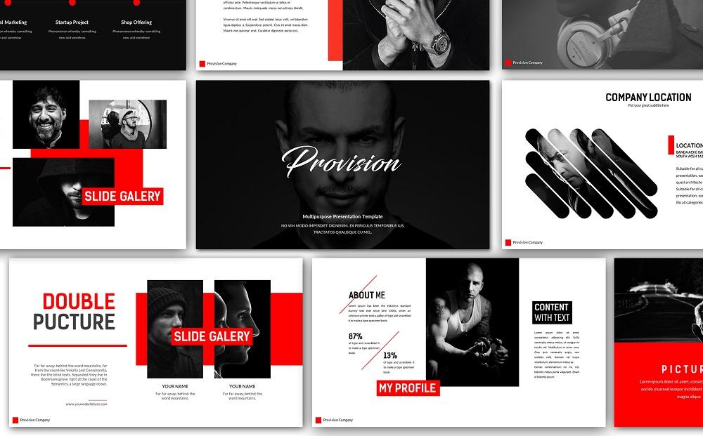 Provision Creative Google Slides