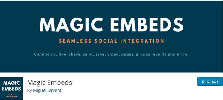 Magic Embeds.