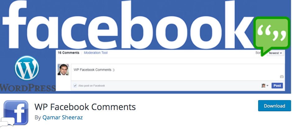 WP Facebook Comments