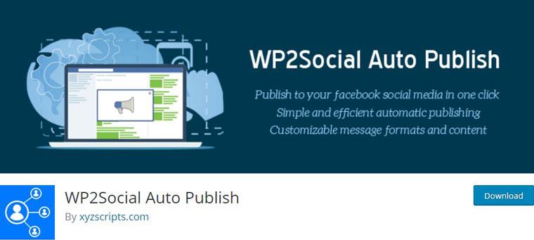 WP2Social Auto Publish.