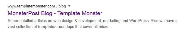 monster post title separator