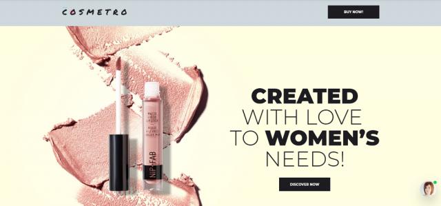 Cosmetro - Cosmetics Store Elementor WooCommerce Theme