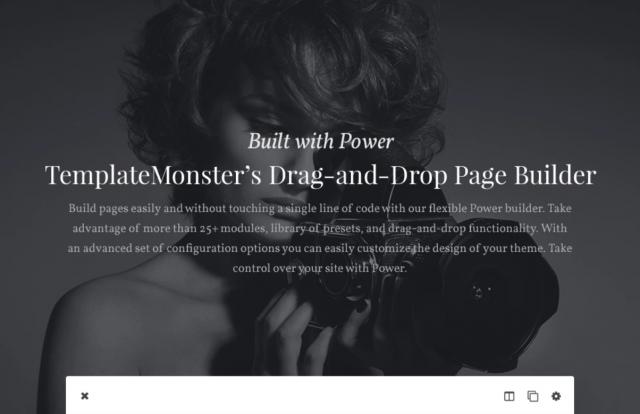 Melissa - Art & Photography & Photographer Portfolio & Photo Studio Responsive WordPress Theme WordPress Theme