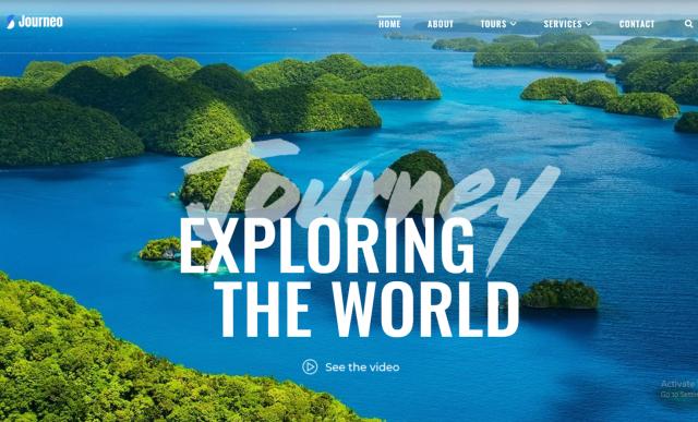 Tourizto lite - Travel Company Elementor