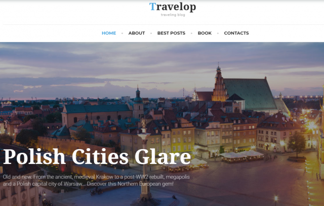 Travelop_lite - Travel photo blog