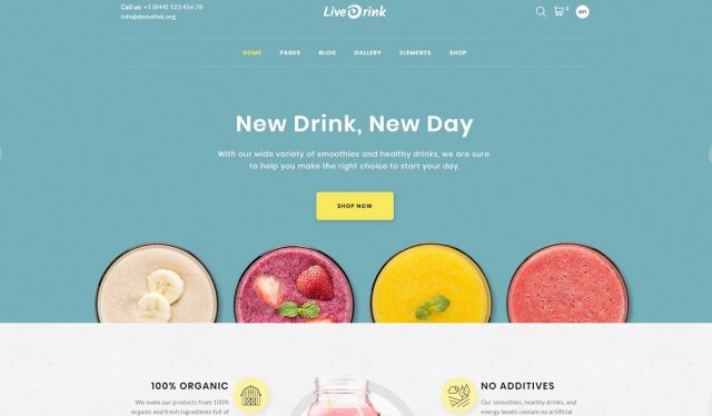Organic Farm Multipurpose HTML Website Template