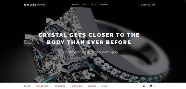 Jewelry Town PrestaShop Theme