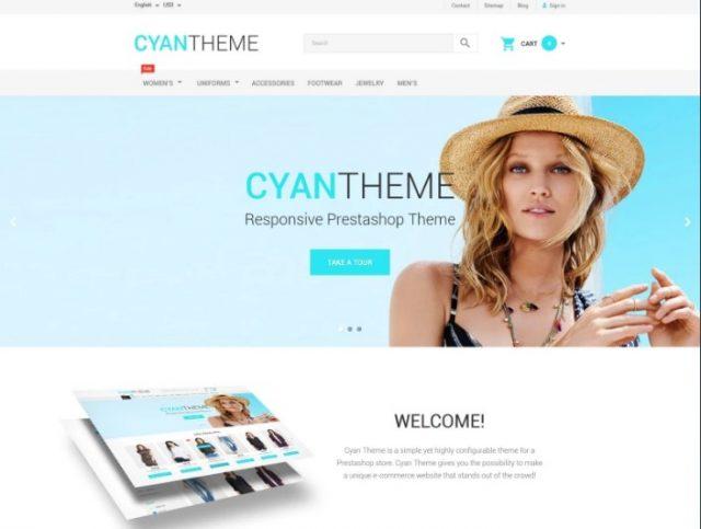 CyanTheme PrestaShop Theme