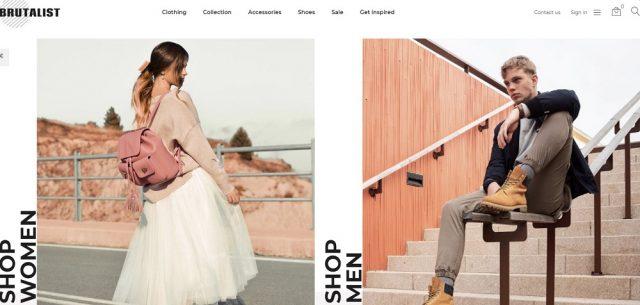 Brutalist - Fashion Store Bootstrap Ecommerce Modern PrestaShop Theme