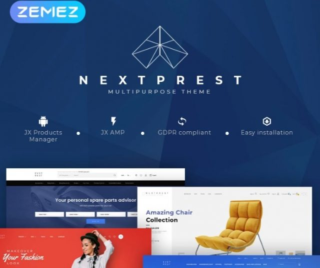 NextPrest - Multipurpose Clean Ecommerce Bootstrap PrestaShop Theme