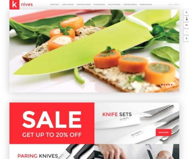 Knives PrestaShop Theme