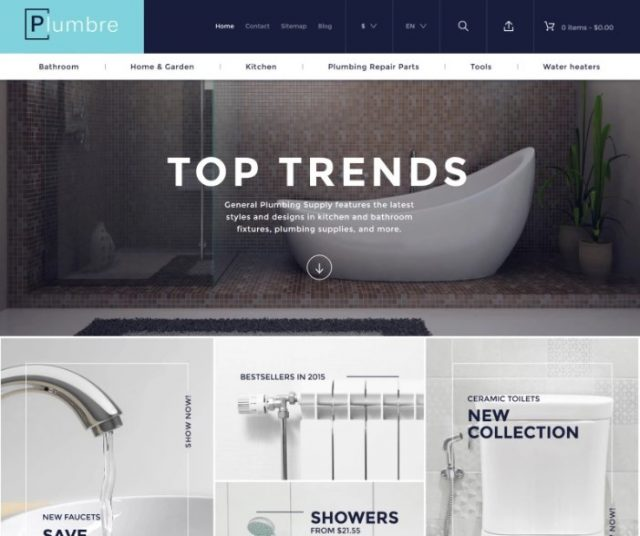 Plumbre - Plumbing Supplies PrestaShop Theme
