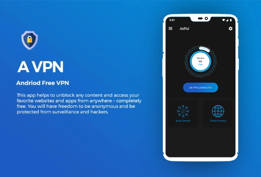 AVPN Android Unlimited Free VPN App Template