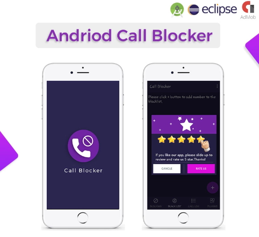 Call Blocker with Admob Andriod Studio App Template