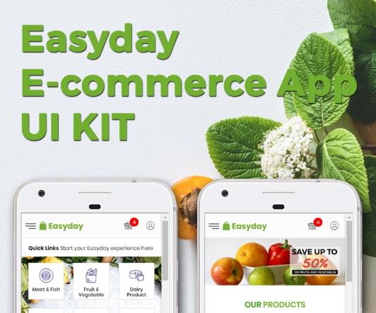 Easyday E-commerce App KIT App Template