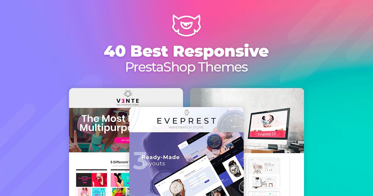40 Best Responsive PrestaShop Themes