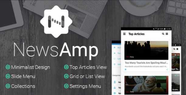 NewsAmp - Android News App Template