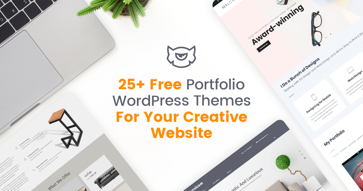 Free Portfolio WordPress Themes for Your Creative Website