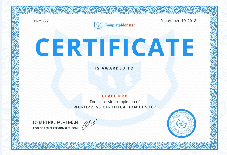 Free WordPress Certification