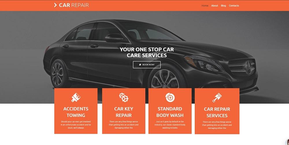 Car Repair lite WordPress Theme