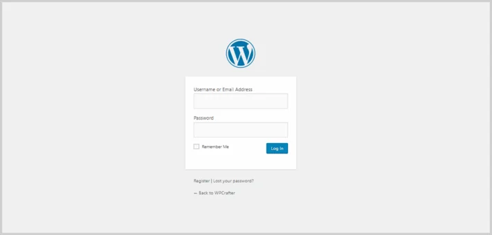 enter username password