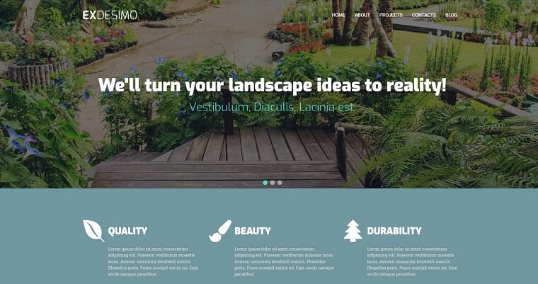 Exdesimo - Landscape Multipurpose Modern Elementor WordPress Theme