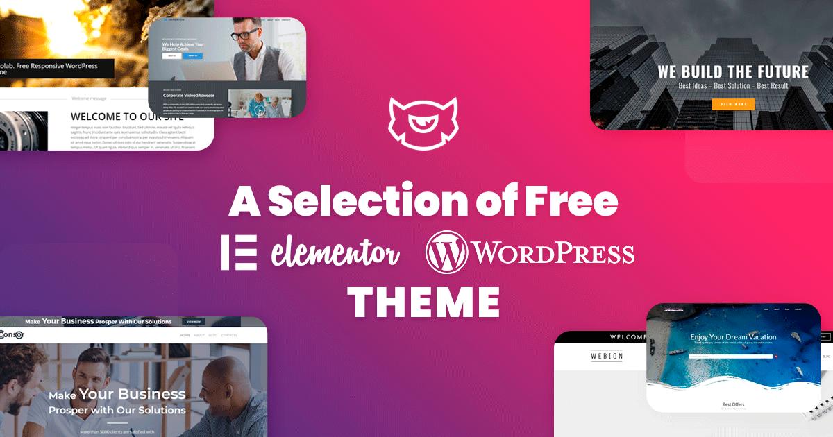 Free Elementor WordPress Theme