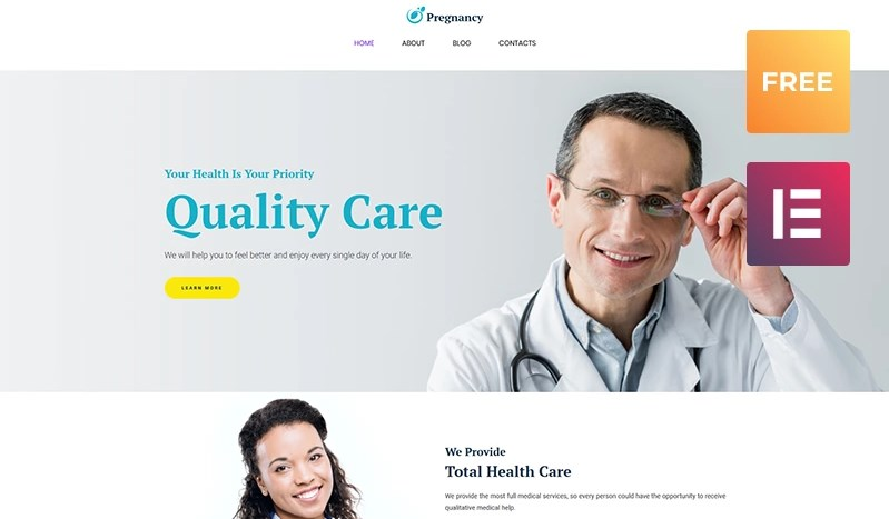 Free WordPress Template WordPress Theme