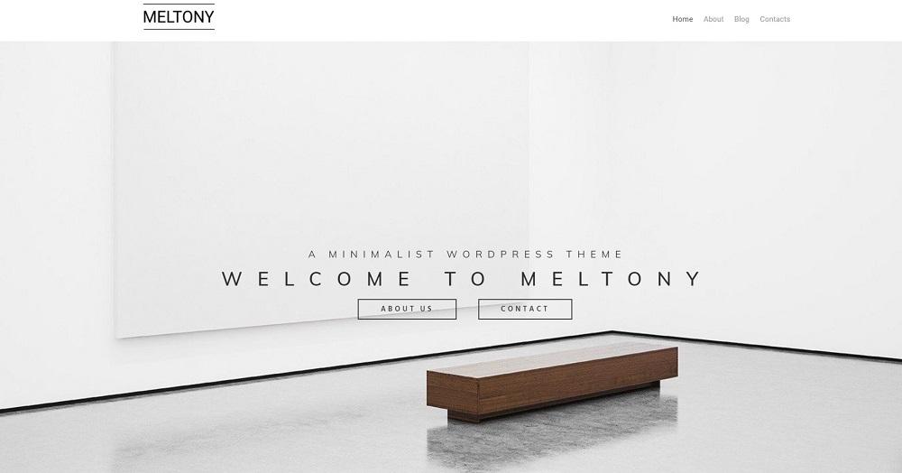 Meltony lite - Minimal Multipurpose Elementor WordPress Theme