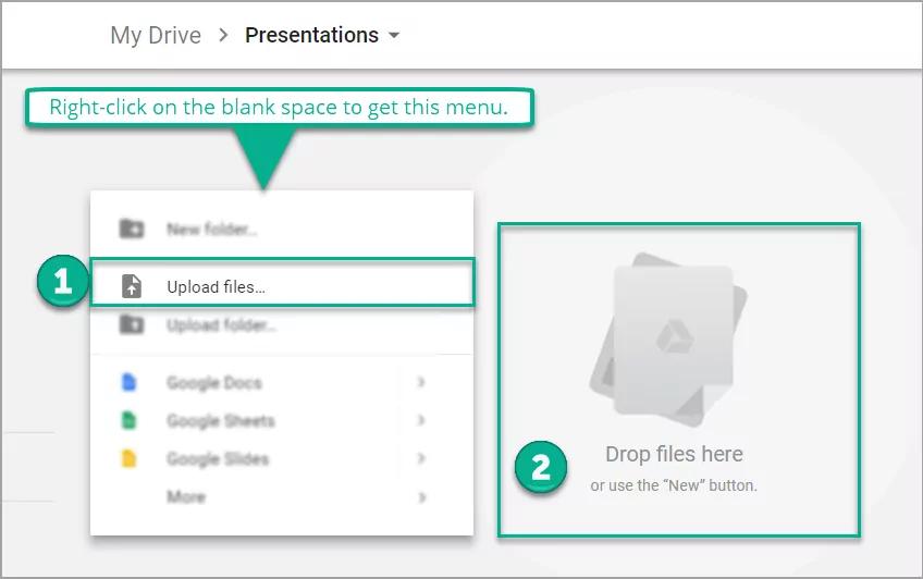 my drive presentations