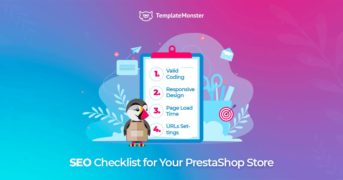 SEO checklist for your PrestaShop store