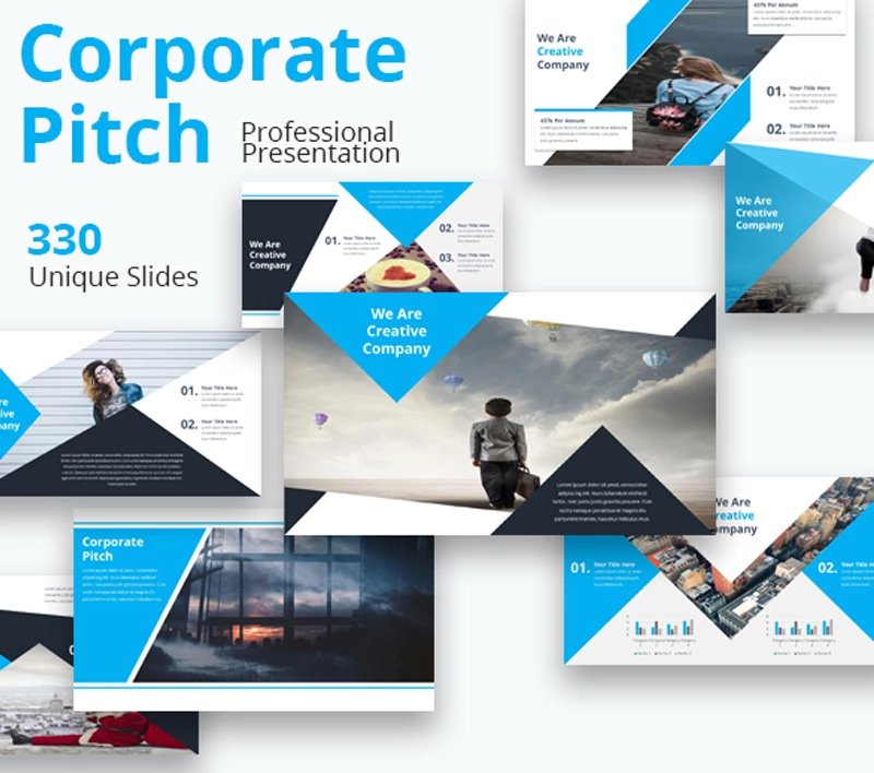 Corporate Pitch Premium Google Slides