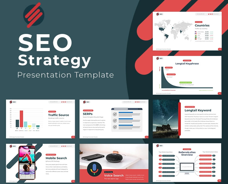 SEO Strategy Google Slides