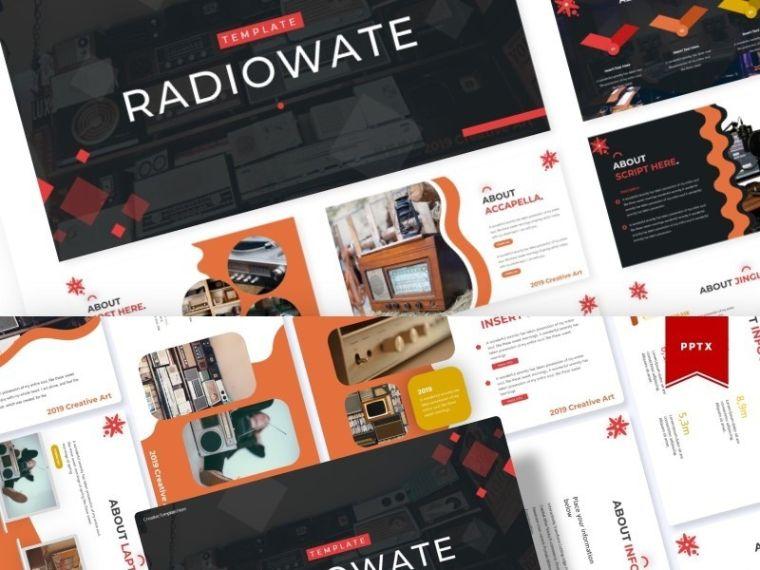 Radiowate template