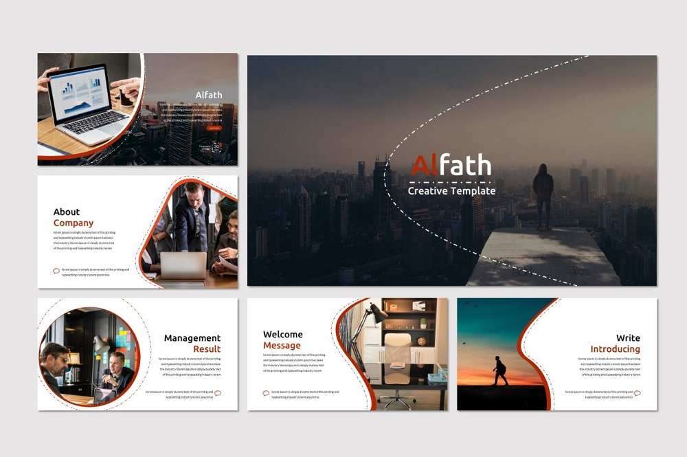 Alfath - PowerPoint Template