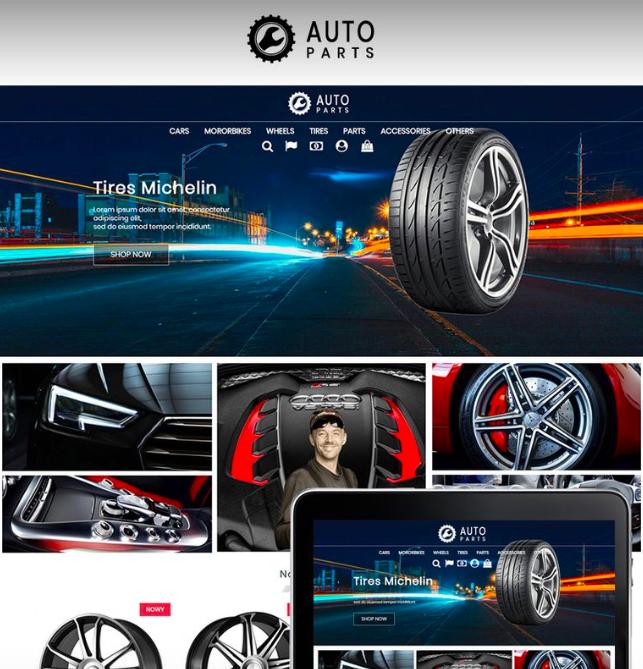 Auto Moto Parts PrestaShop Theme