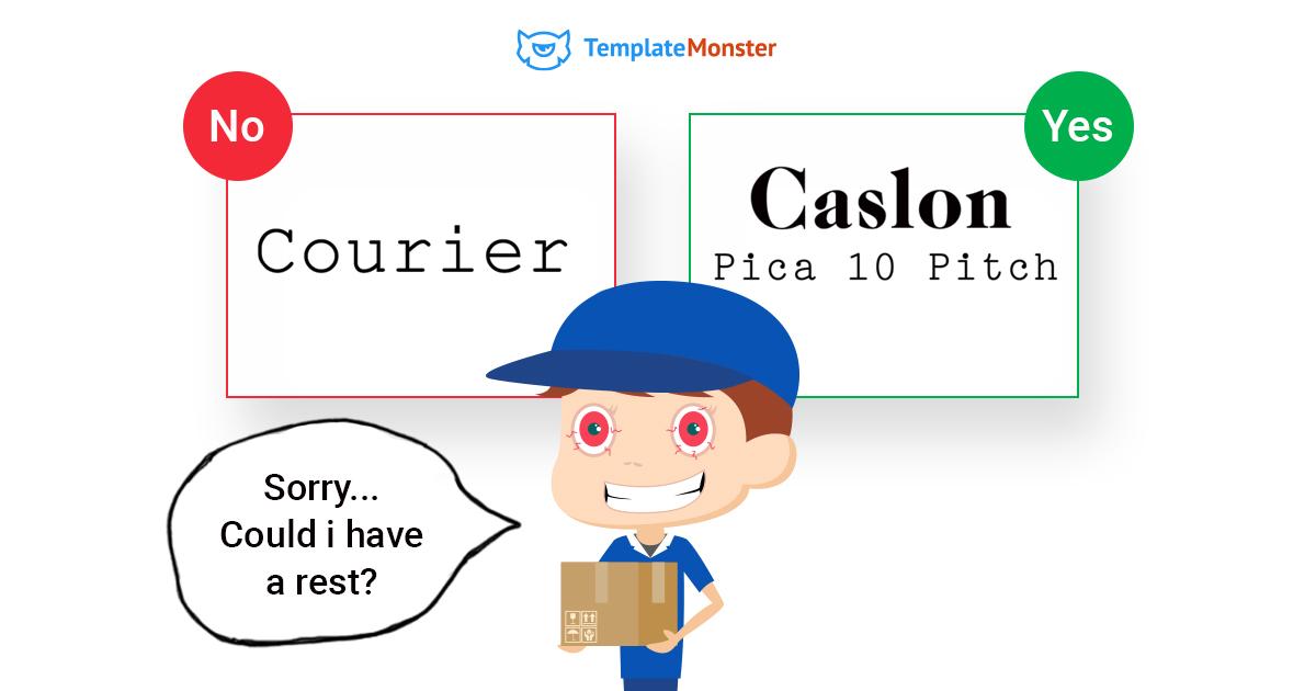 courier-caslon