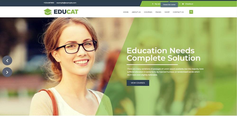 Educat - Education WordPress Theme